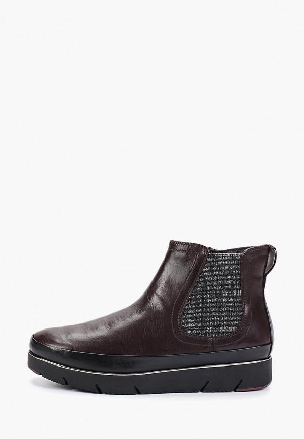 женские ботинки pure relax by tamaris, коричневые