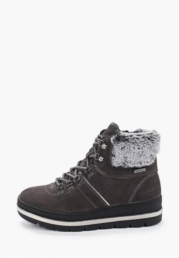 женские ботинки tamaris pure relax, серые