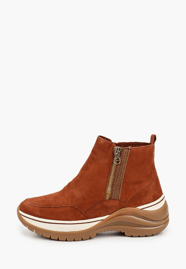 женские ботинки tamaris pure relax, коричневые