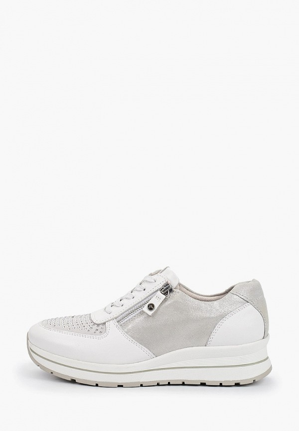 женские кроссовки pure relax by tamaris, белые