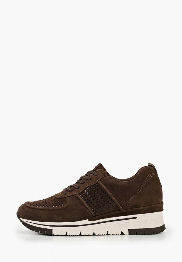 женские кроссовки tamaris pure relax, коричневые
