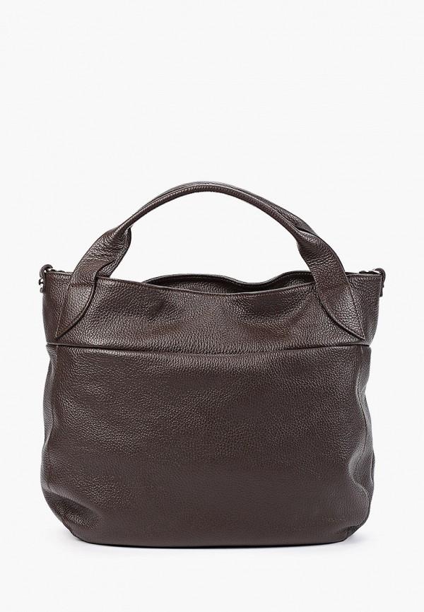 женская сумка pulicati, коричневая