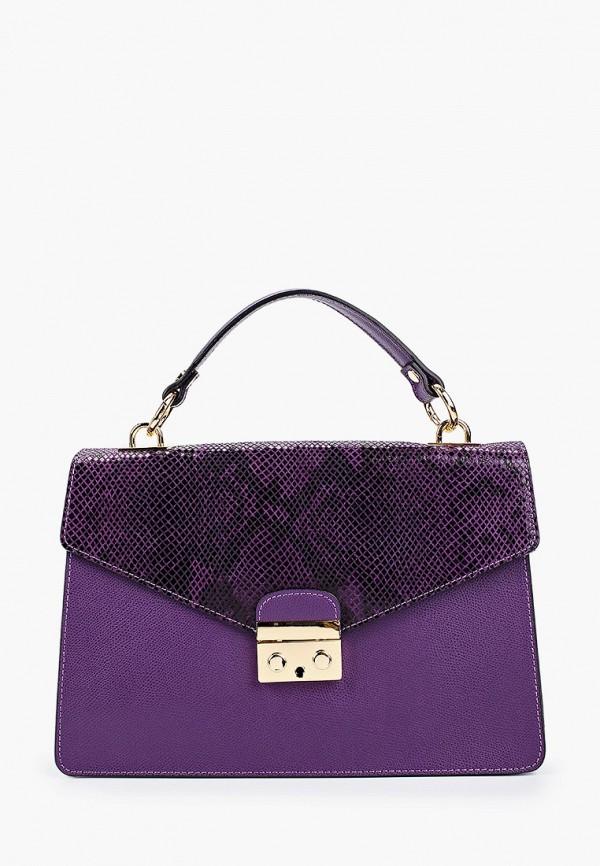 женская сумка pulicati, фиолетовая