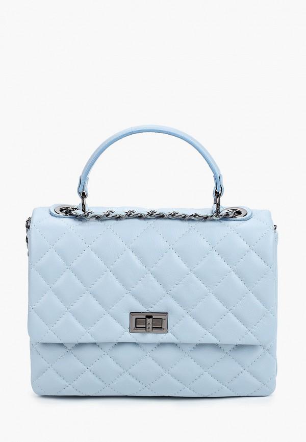 женская сумка pulicati, голубая