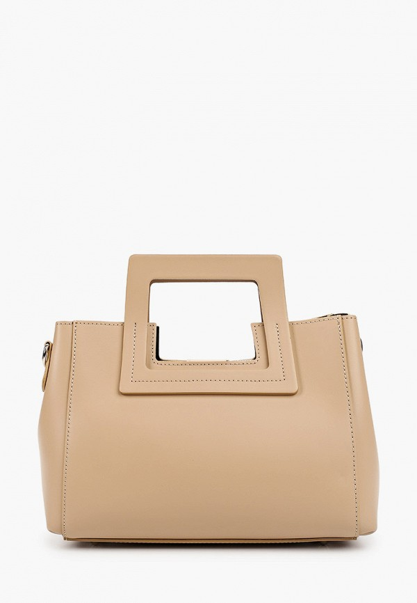 женская сумка pulicati, бежевая