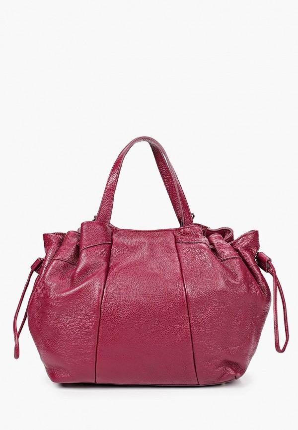 женская сумка pulicati, бордовая