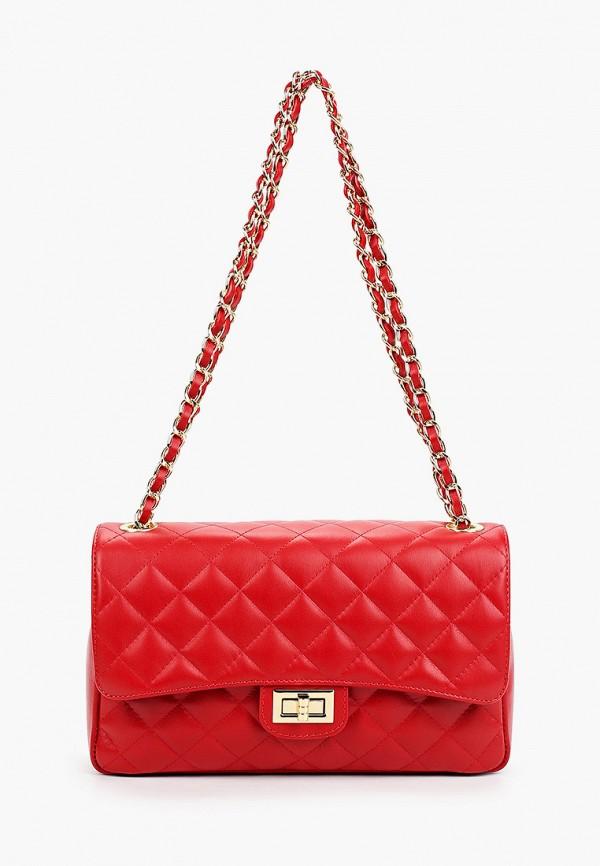 женская сумка pulicati, красная