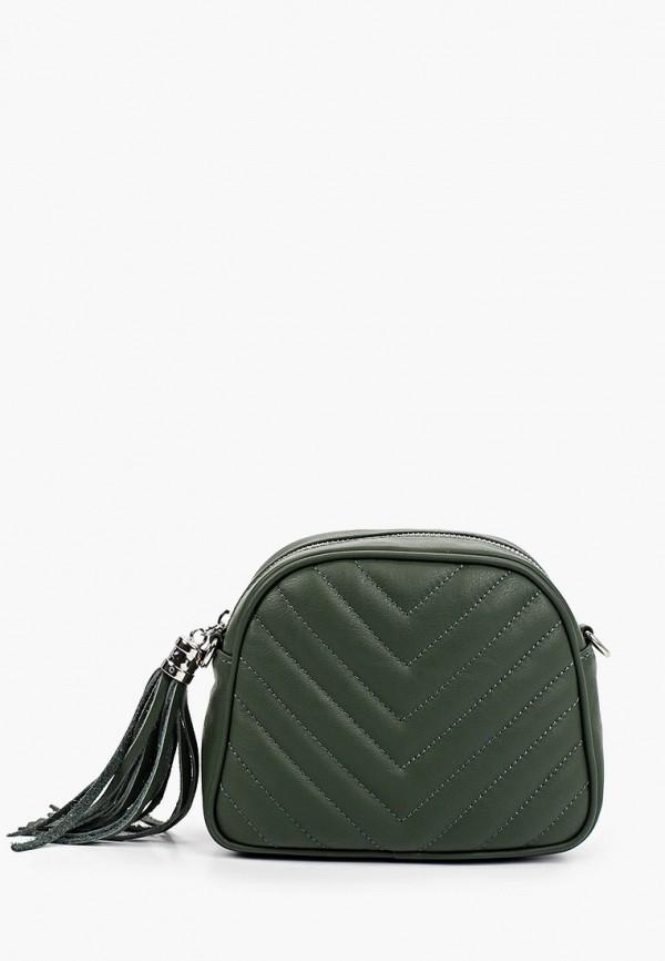 женская сумка pulicati, зеленая