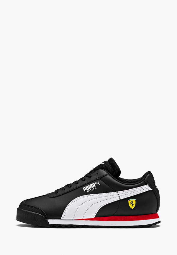 кроссовки puma для мальчика, черные