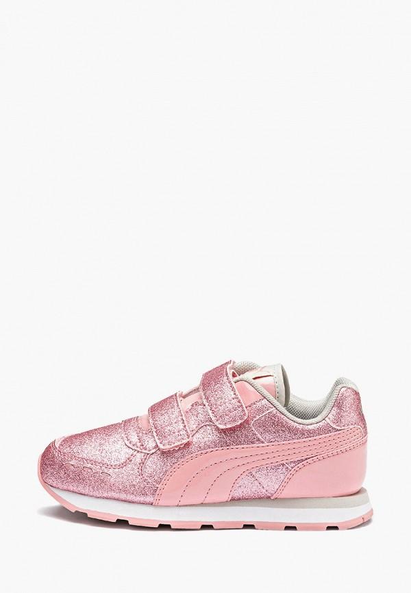 кроссовки puma для девочки, розовые