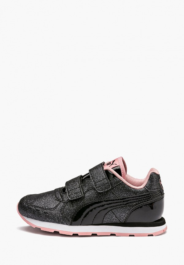 кроссовки puma для девочки, черные