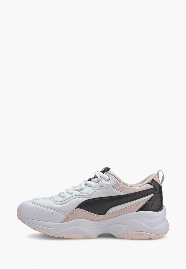 кроссовки puma для девочки, белые