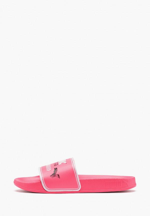 сланцы puma для девочки, розовые