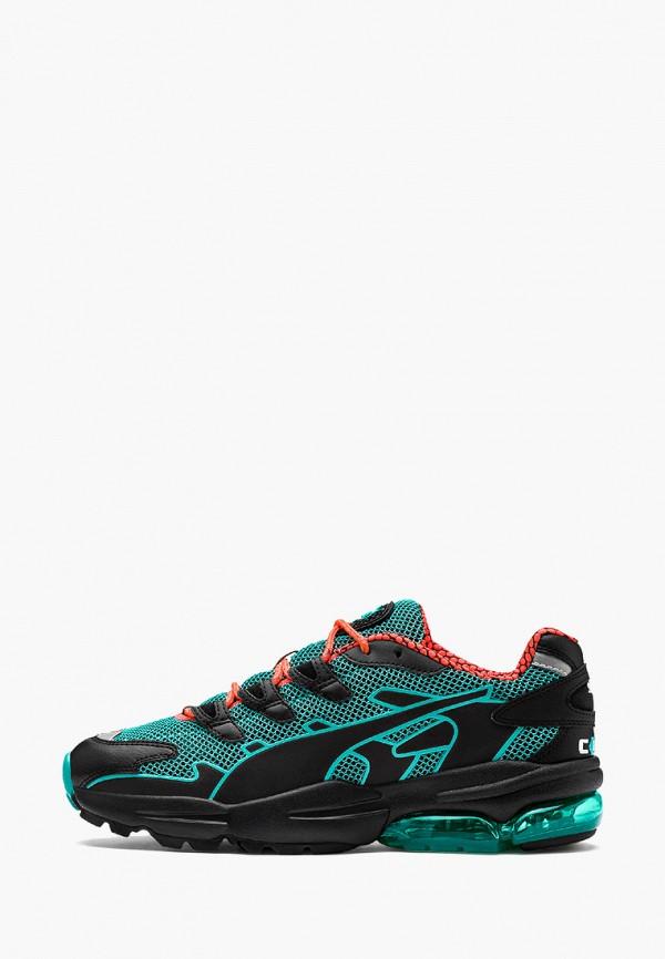 мужские кроссовки puma, зеленые