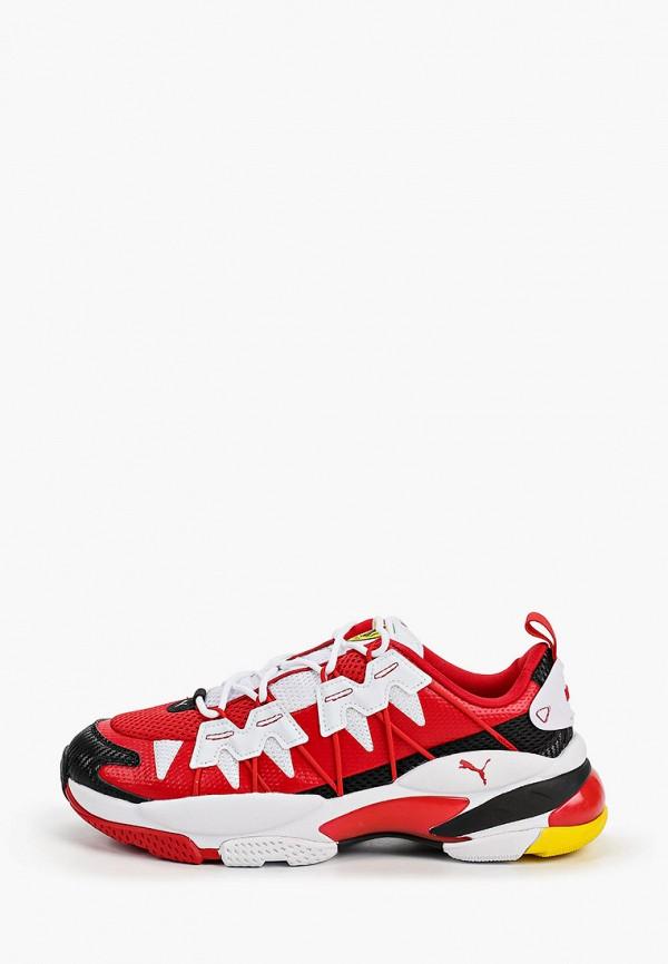 мужские низкие кроссовки puma, красные