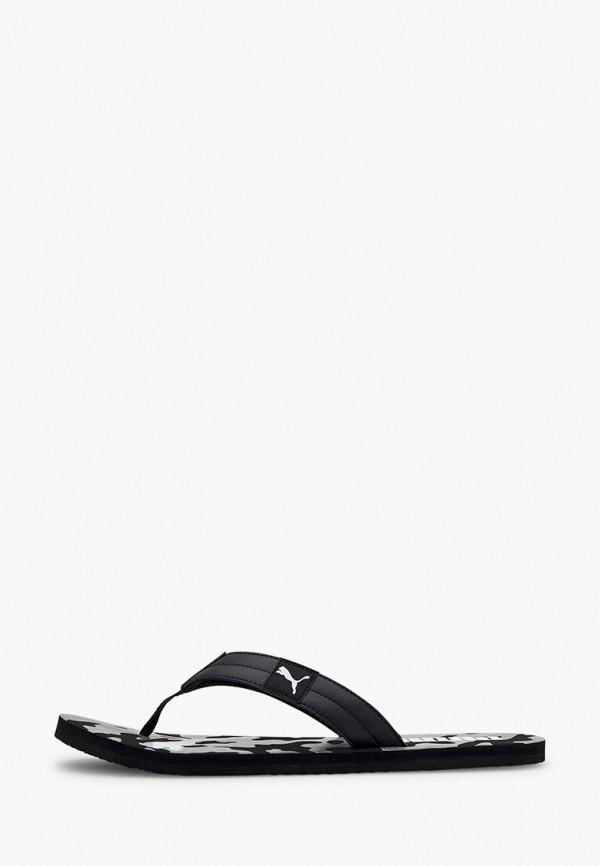 мужские сланцы puma, черные