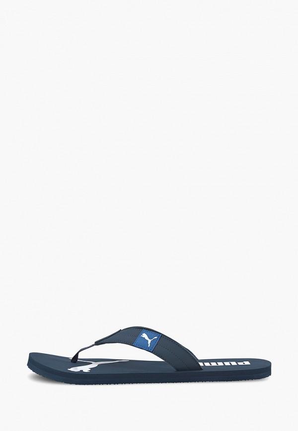 мужские сланцы puma, синие
