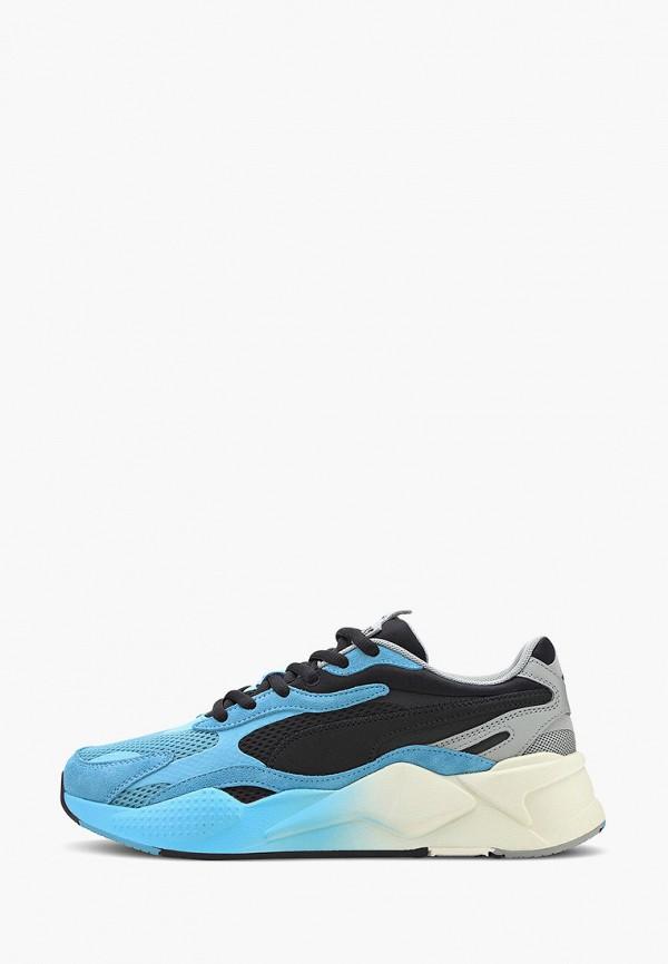мужские низкие кроссовки puma, голубые