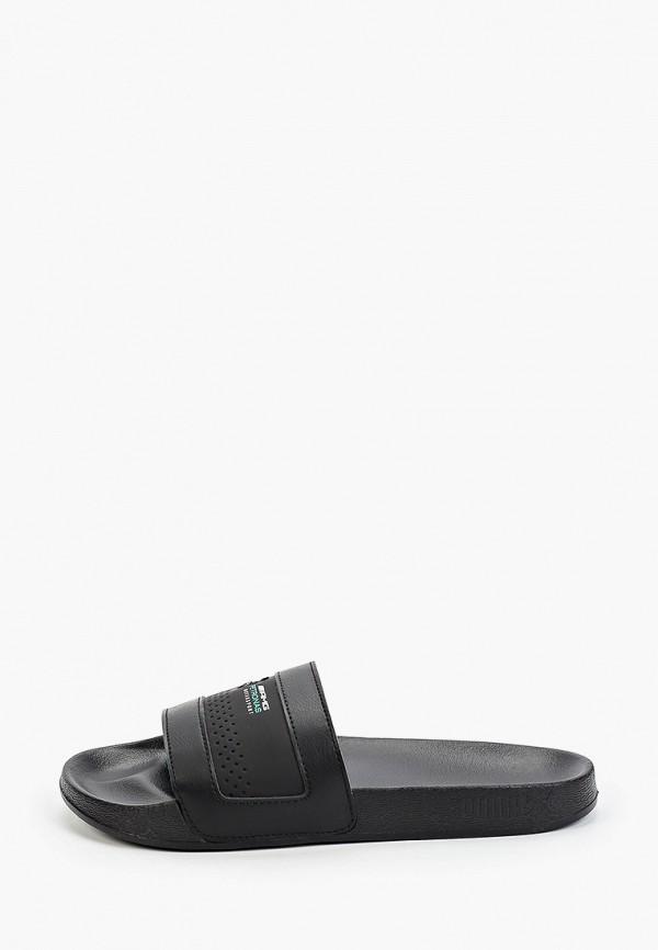 мужские сандалии puma, черные