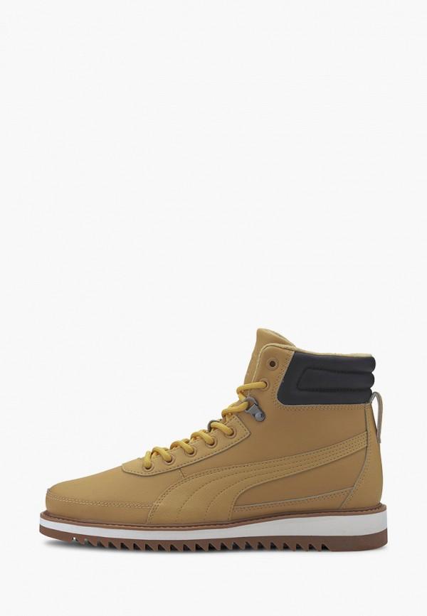 Ботинки PUMA бежевого цвета