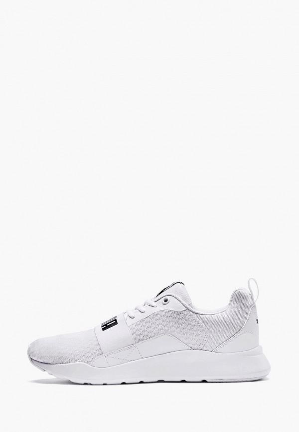 мужские низкие кроссовки puma, белые