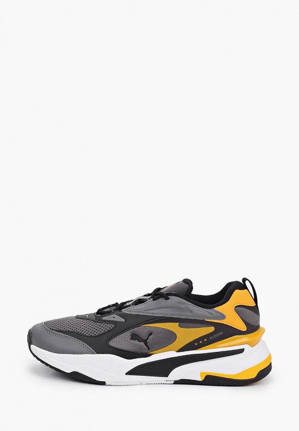 мужские низкие кроссовки puma, серые