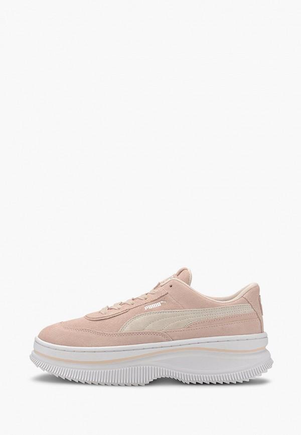 женские кроссовки puma, розовые