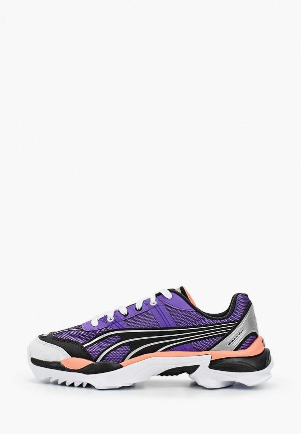 женские кроссовки puma, фиолетовые