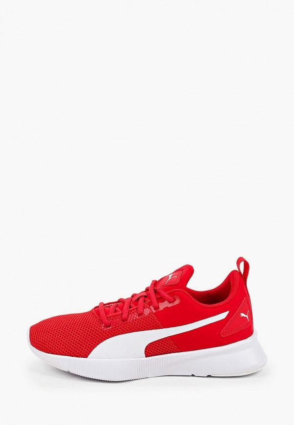 женские низкие кроссовки puma, красные