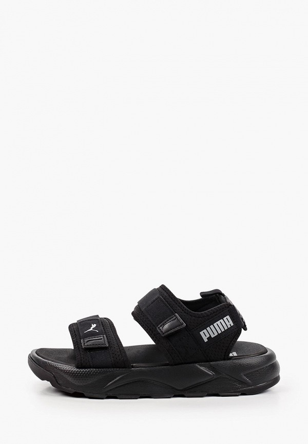 женские сандалии puma, черные