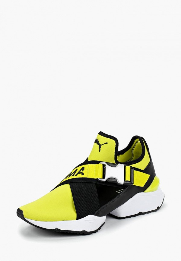 Купить Кроссовки PUMA, Muse EOS Wn's, PU053AWCJOX3, желтый, Осень-зима 2018/2019