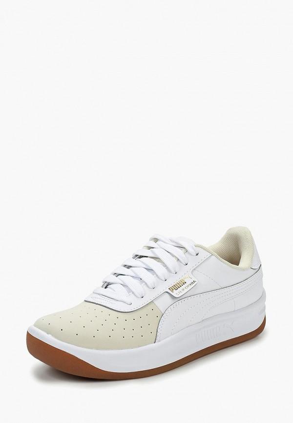 Купить Кроссовки PUMA, California Exotic Wn s, pu053awdfoi3, белый, Осень-зима 2018/2019
