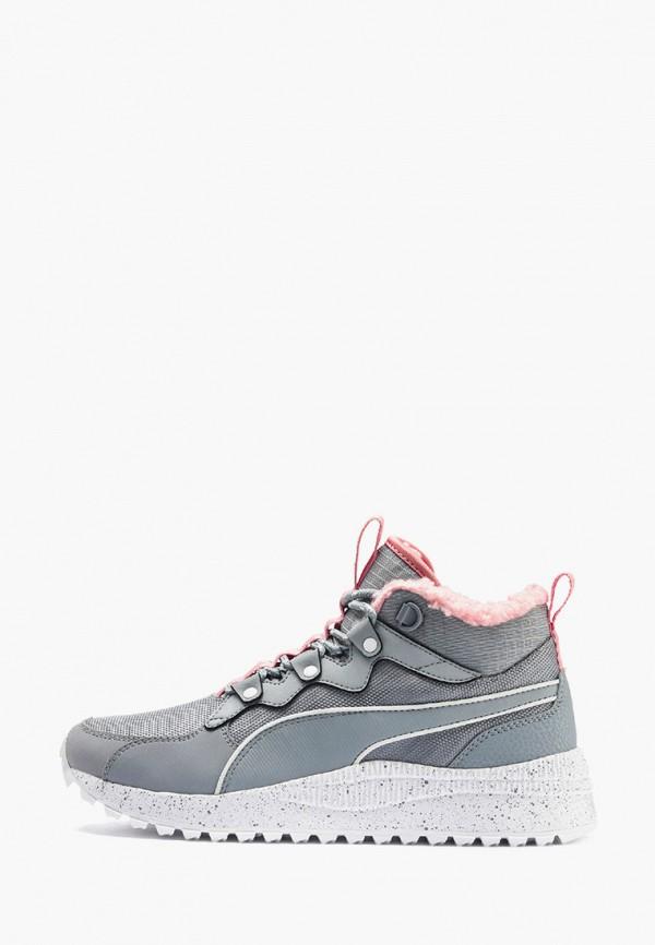 женские кроссовки puma, серые