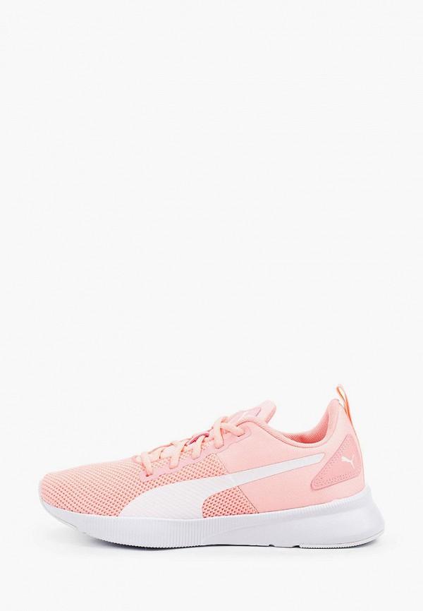 женские низкие кроссовки puma, оранжевые