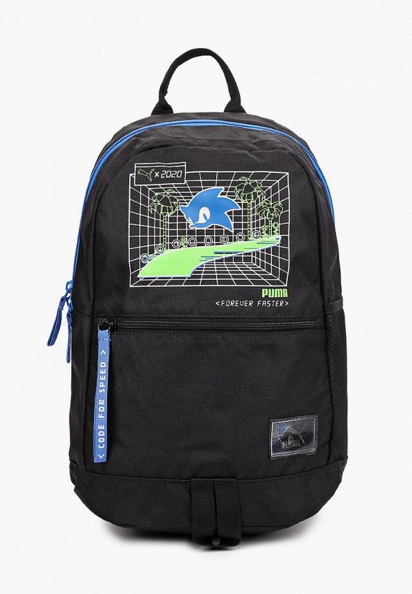рюкзак puma для мальчика, черный