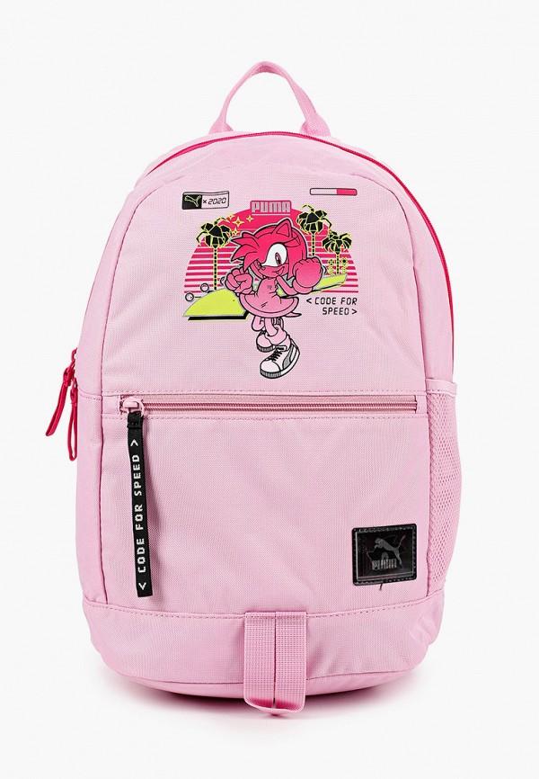 рюкзак puma для девочки, розовый