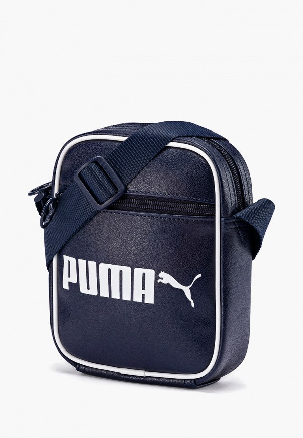 мужская сумка puma, синяя
