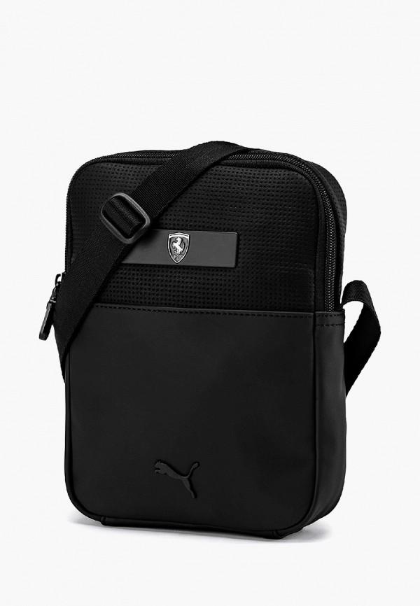 мужская сумка puma, черная