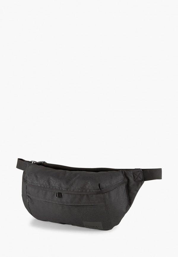 мужская поясные сумка puma, черная