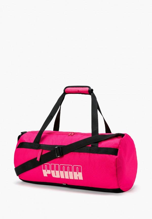 мужская спортивные сумка puma, розовая