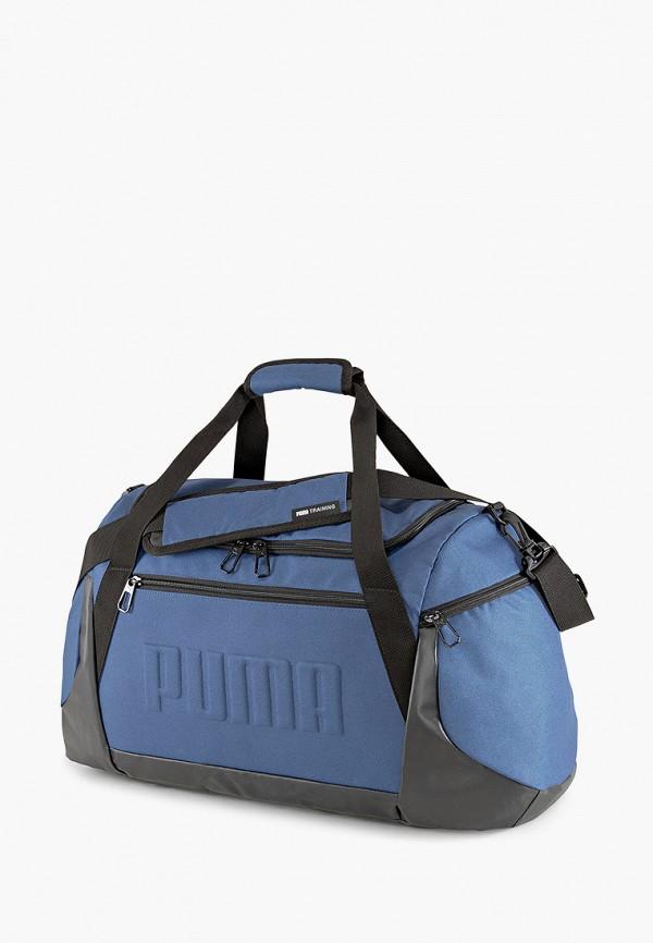 мужская спортивные сумка puma, синяя