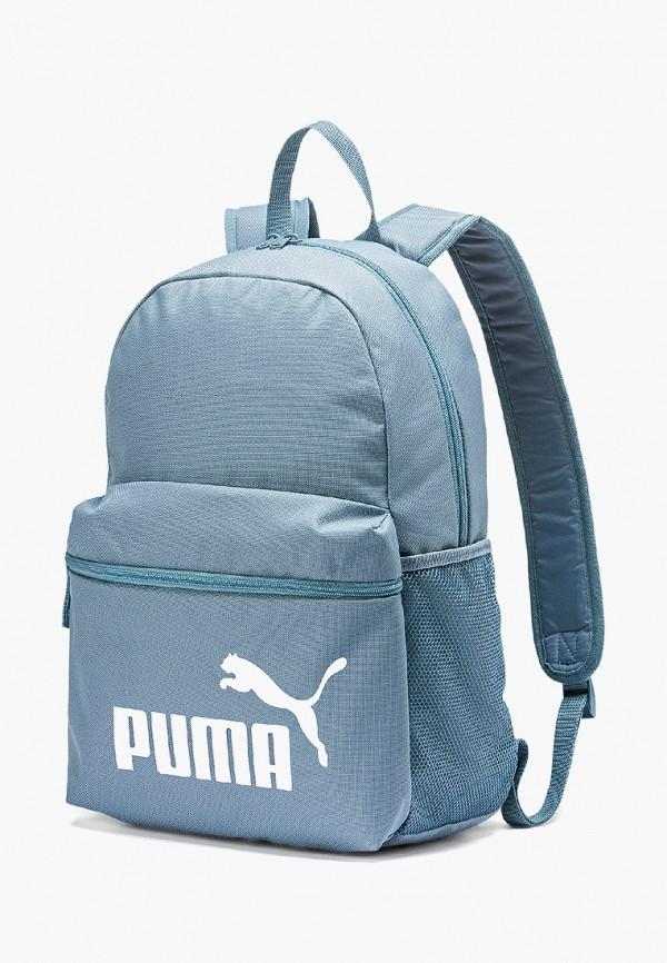 женский рюкзак puma, голубой