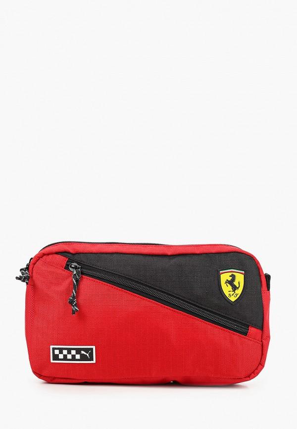 женская поясные сумка puma, красная