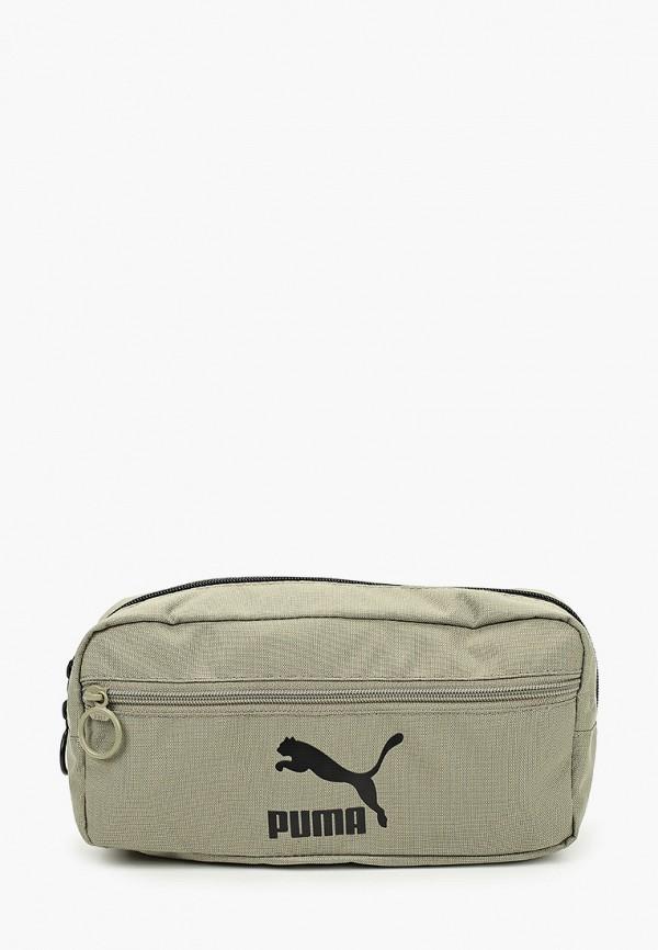 женская поясные сумка puma, хаки