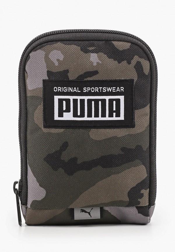 женский кошелёк puma, хаки