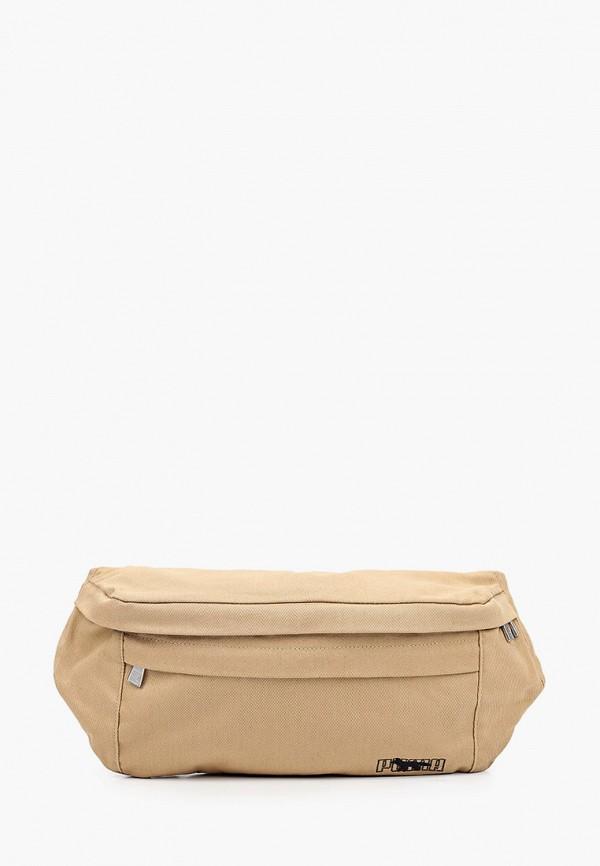 женская поясные сумка puma, бежевая