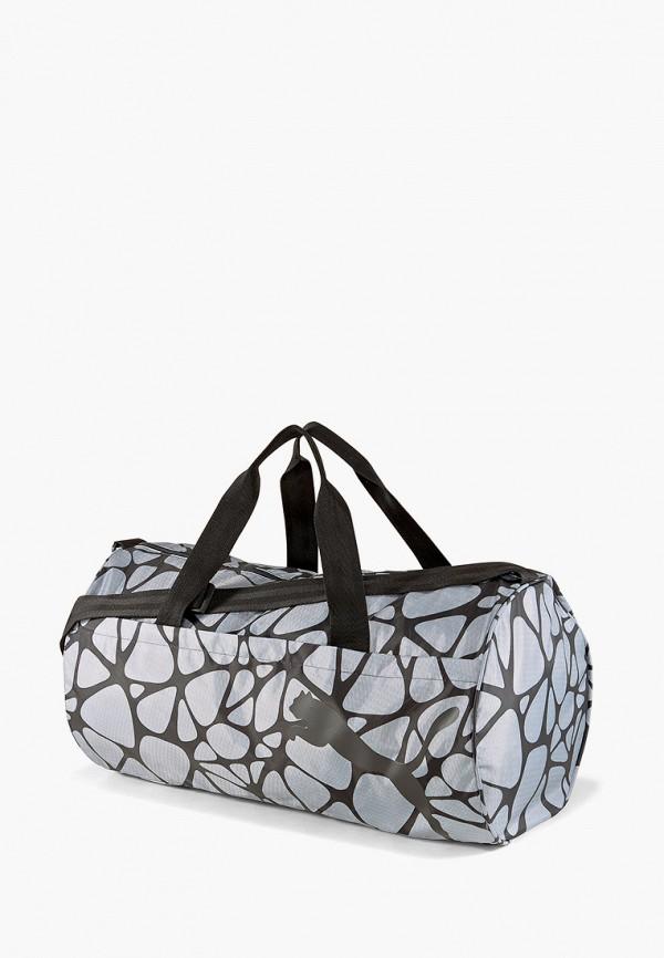 женская спортивные сумка puma, серая