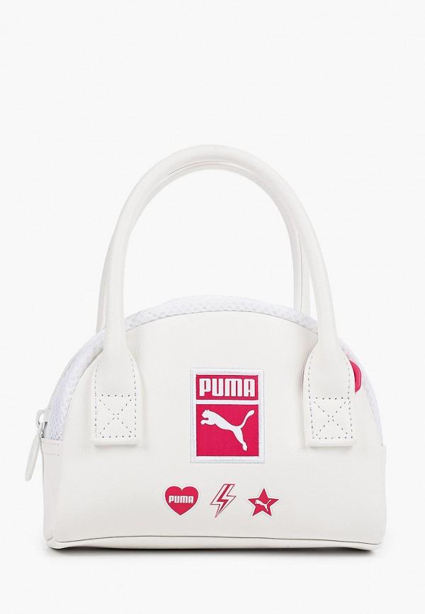женская спортивные сумка puma, белая