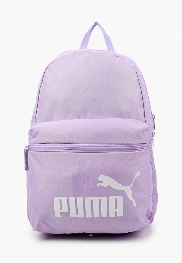 женский рюкзак puma, фиолетовый