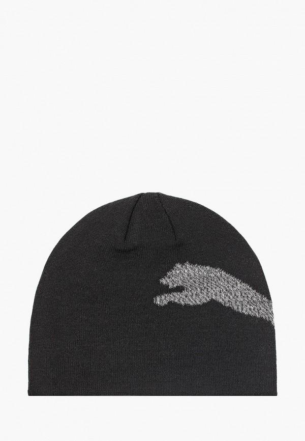 шапка puma для мальчика, черная